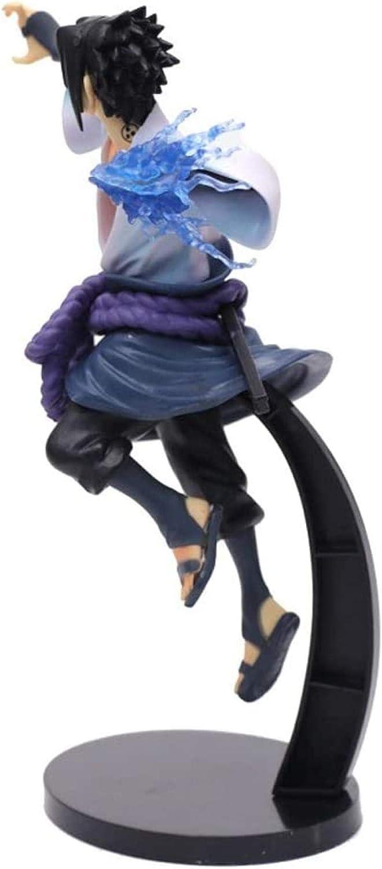 Sasuke Uchiha Fighting Version PVC Figur Modell Geschenk 10 2 Zoll hoch DSG501 UanPlee-SC Anime-Charaktere Naruto Anime-Serie
