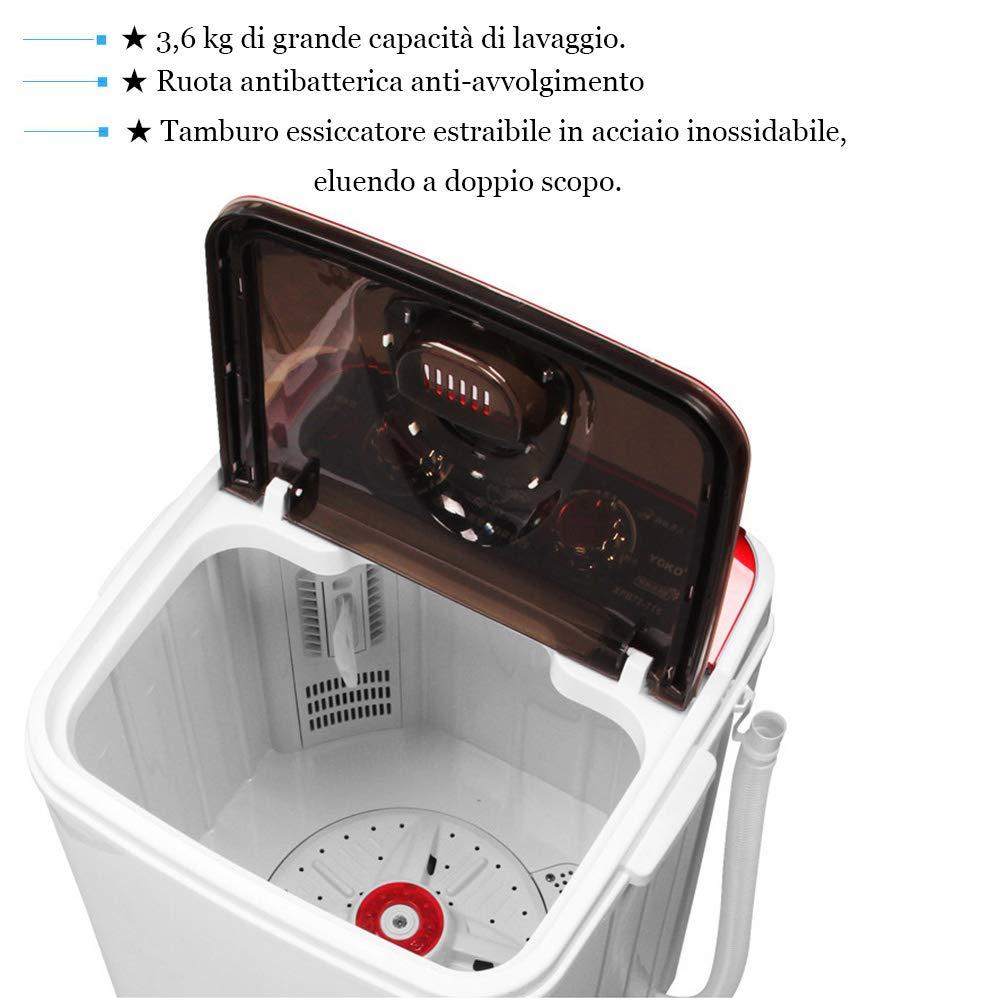 Household appliances Lavado DE 3,6 kg pequeñas lavadoras ...