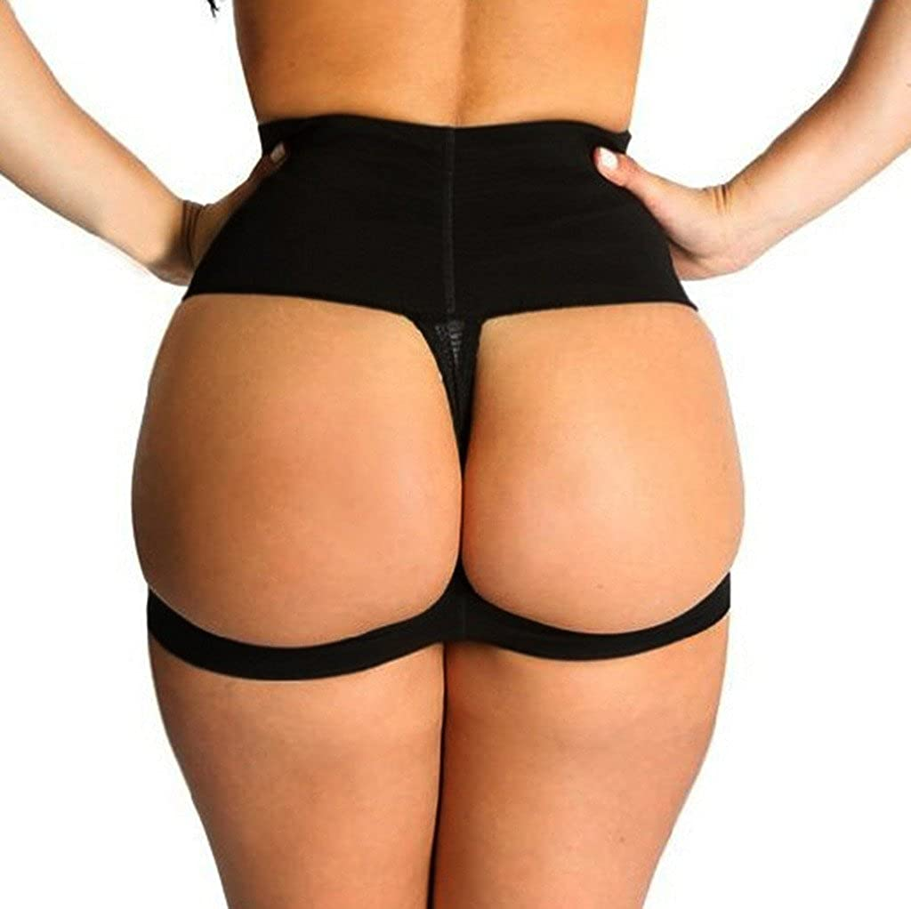DODOING Women's Butt Lifter Enhancer Panties Shapewear Boy Shorts Panties Shaper ShaperY616005559626