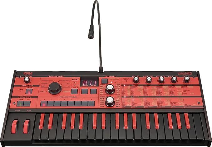 Korg microKORG Synthesizer/Vocoder Black/Red (japan import ...