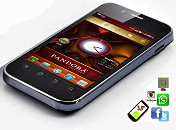 MOVIL SMARTPHONE PANDORA ANDROID GOOGLE PLAY BLUETOOTH WIFI ...