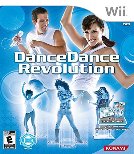 DanceDanceRevolution Bundle - Nintendo Wii