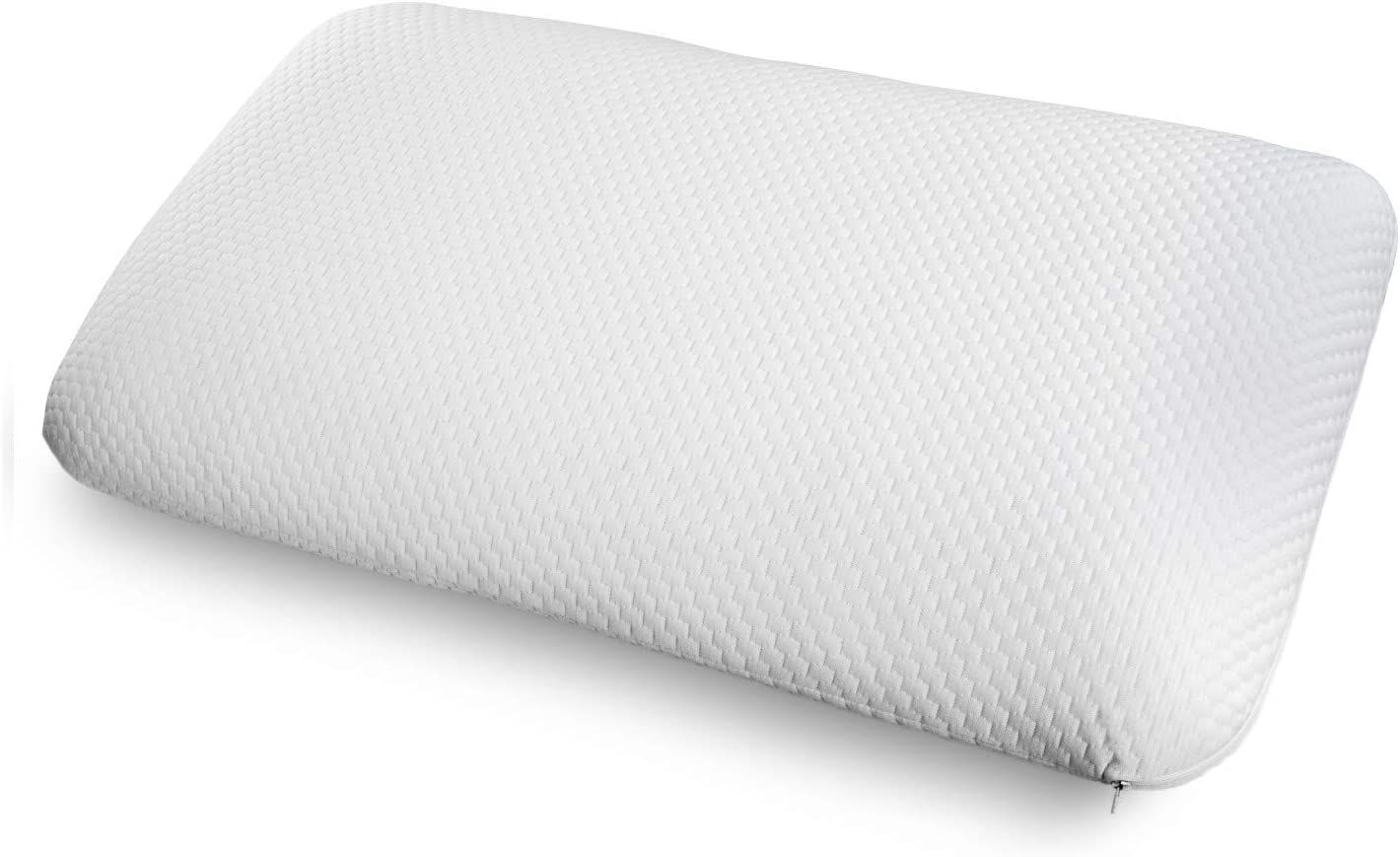Ambesonne Foam Pillow with Ventilation Holes and Double Cover, Ultimate Comfort Visco Elastic Foam with Brushed Microfiber Sham and Removable and Washable Pillowcover, 36