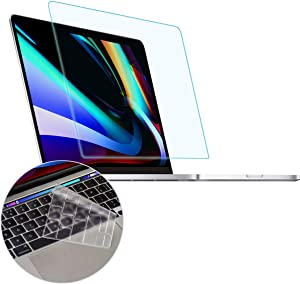MUBUY Anti Blue Light Anti Glare Screen Protector for New MacBook Pro with or without Apple M1 Chip 13-inch Model A2338 A2289 A2251, Reduce Eyes Strain Help Sleep Better