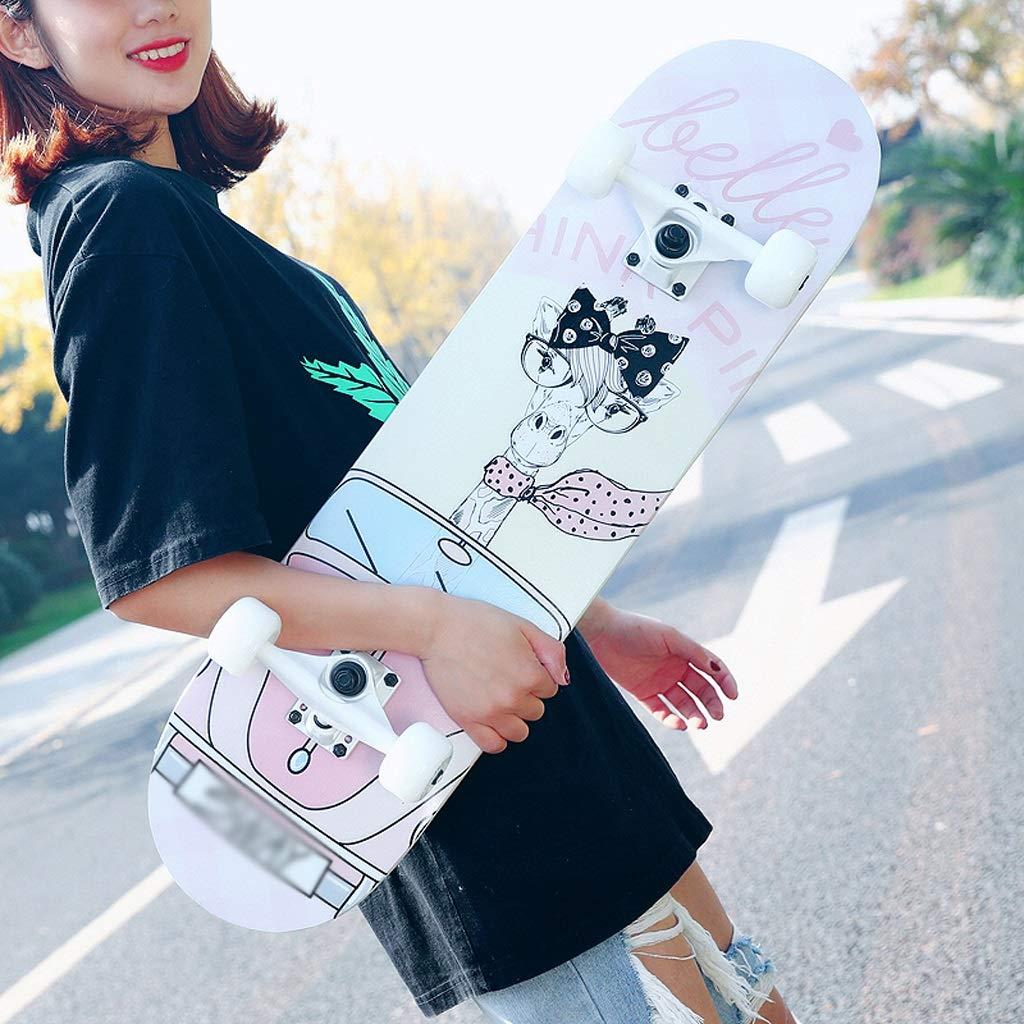 最安値挑戦! DUWEN スケートボード初心者大人の女の子ティーンブラシストリートダブルロッカー子供四輪スクーター(フラッシュホイール付き) DUWEN (色 : A) B07NQ63TP5 B07NQ63TP5 C C C, KAIATTA カイアッタ:ce0473c9 --- a0267596.xsph.ru