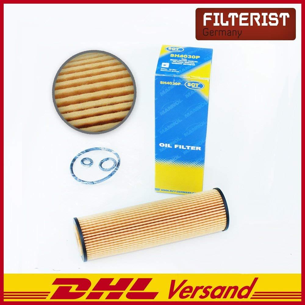 Autoladegerät geschenkt Original SCT Germany Ölfilter SH409P