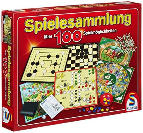 Spiele-Sammlung mit 100 Spielen für einen oder mehr Spieler ab 6 Jahren