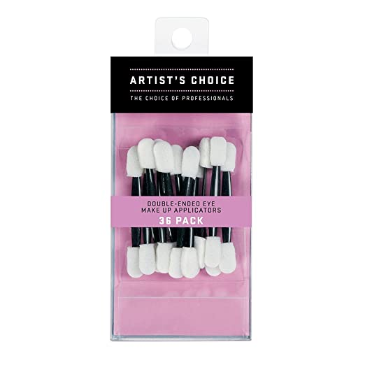 Artist's Choice Double Ended Eye Shadow Applicators (36 Count)