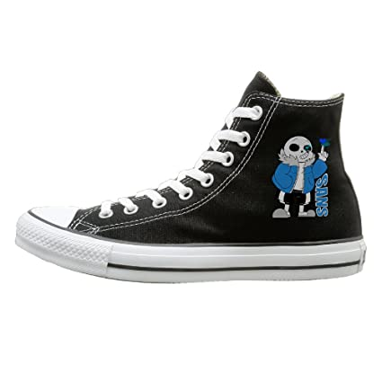 Jajade Unisex Sans Undertale Role-playing Video Game Character High Top Sneakers Canvas Shoes Design