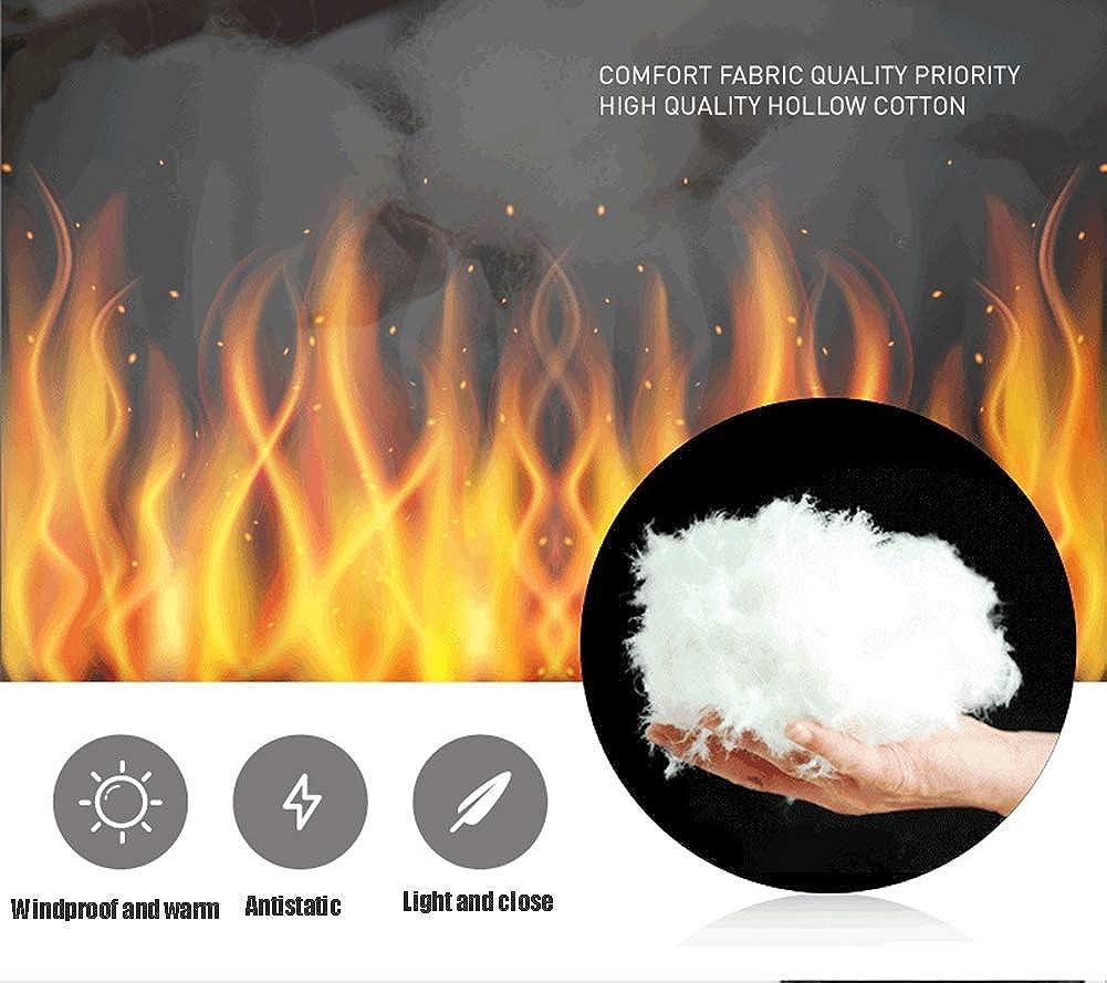 LAOSHIPAI Piumino invernale da uomo Giacca calda e leggera per riscaldamento intelligente a tre velocità con controllo della temperatura grey K6eRv