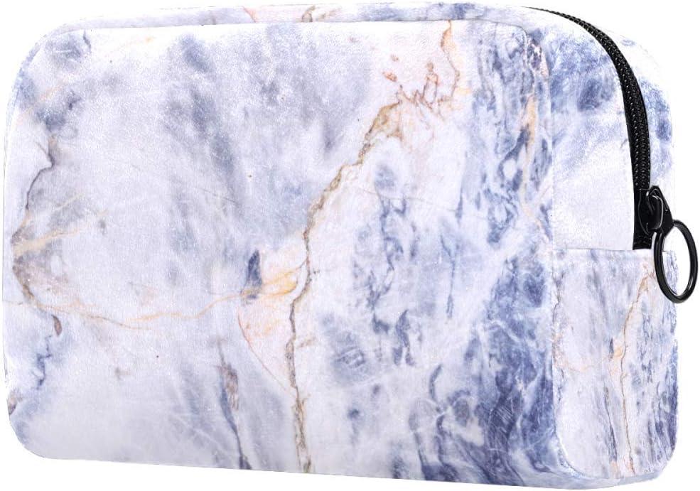 Bolsa de Maquillaje con diseño de Estrellas flotantes y Brillantes, Bolsa de Maquillaje, Organizador de Viaje Multi05. 18.5x7.5x13cm/7.3x3x5.9in