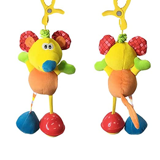 Amazon.com: Nicedeal Baby Hanging Toy Infant, Baby, Wind-up Music Box Toys Seat Hanging Rattles Bed Stroller Toy (Mouse) Child Toy for Fun and ...