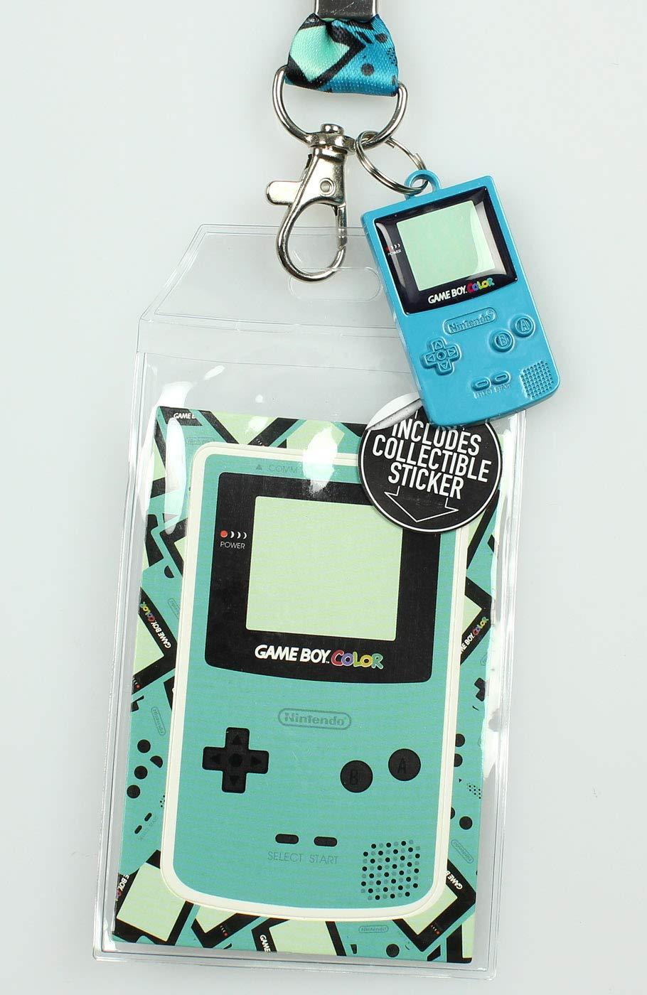 Nintendo Gameboy Color cordón con ID titular y 2