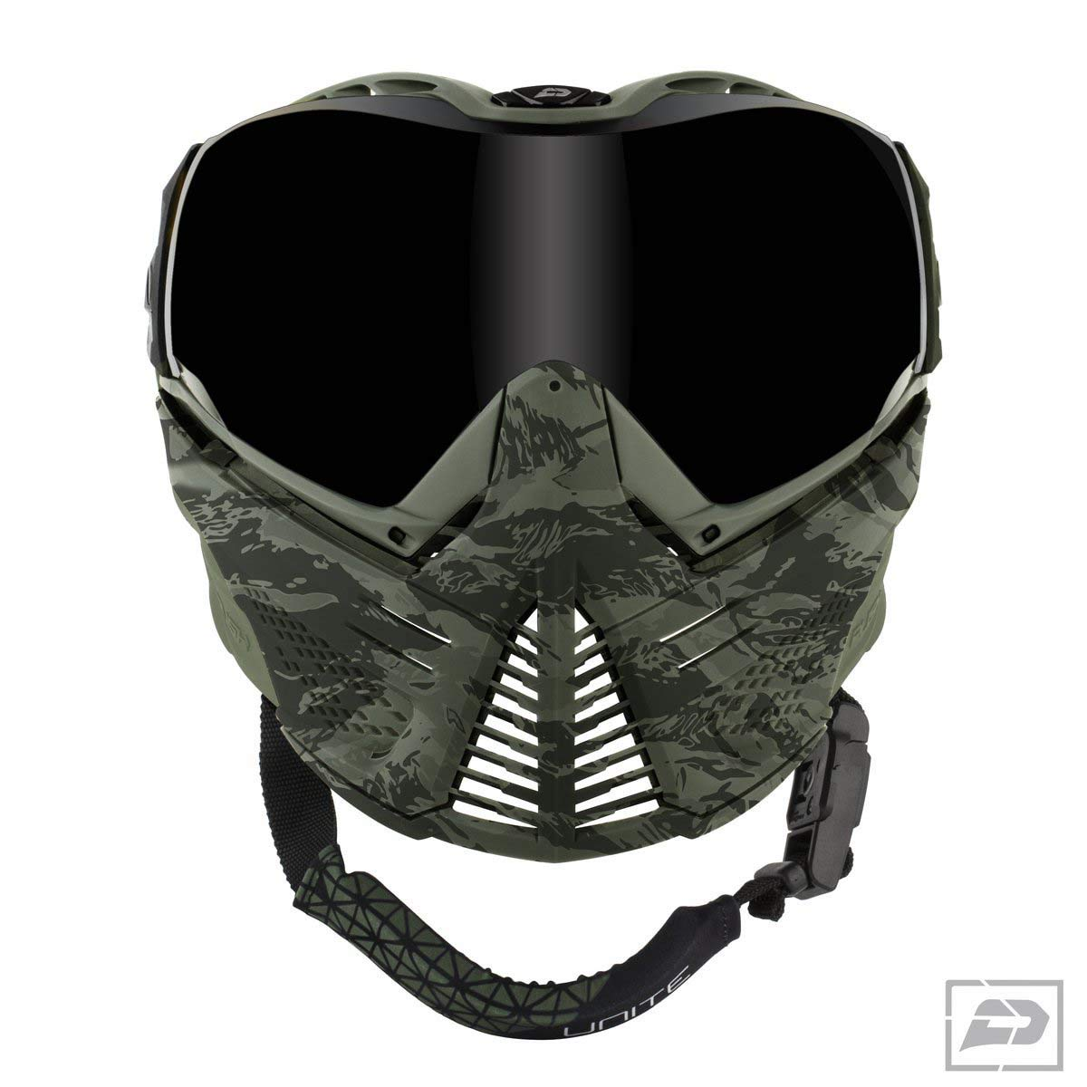 Push Unite Paintball Goggles & Case - Olive Camo by Push Paintball