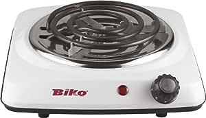 Biko Electric Stove, 6 Kg, White - BK-2-007