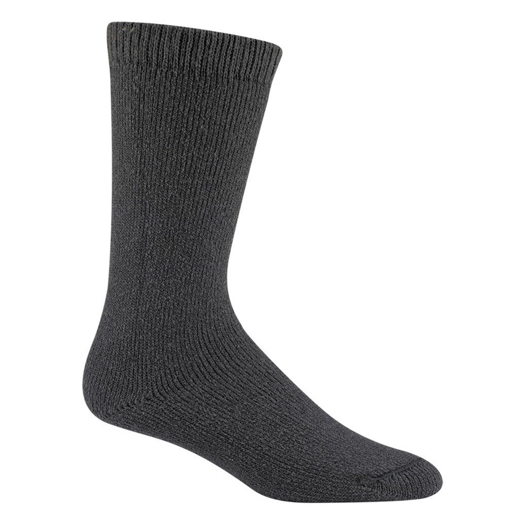 Wigwam Men's 40 Below Heavyweight Boot Socks, Charcoal, Medium by Wigwam
