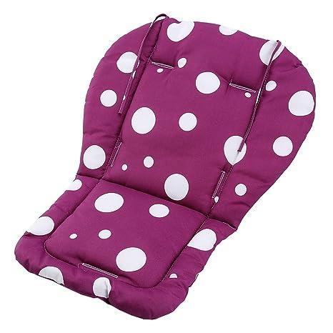 Colchoneta para Silla de Paseo Silla de Bebé Carrito de Bebé, Relleno de Algodón Producto