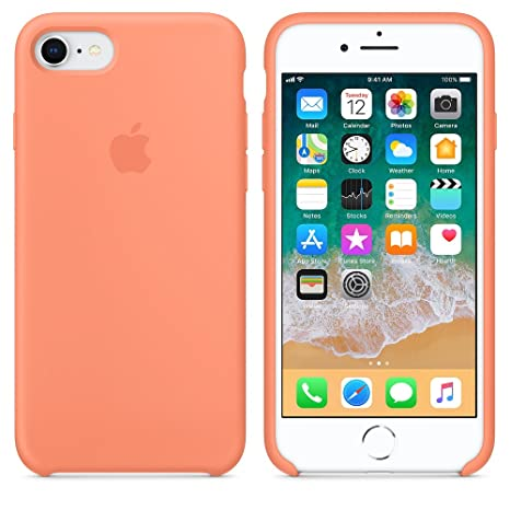 Funda para iPhone 7/8 iPhone 7Plus/8Plus Carcasa Silicona Suave Colores del Caramelo con Superfino Pelusa Forro,Anti-rasguños Teléfono Caso para Apple ...