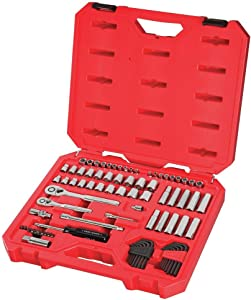 CRAFTSMAN Mechanics Tool Set, SAE / Metric, 1/4-Inch Drive, 83-Piece (CMMT12021)