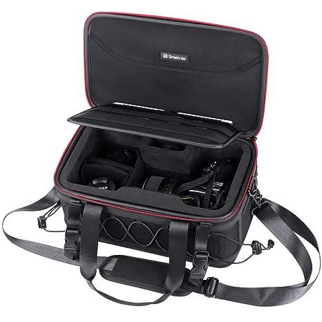 Smatree Estuche para cámaras réflex,Lentes y Accesorios Compatible ...
