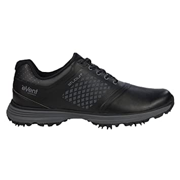 Stuburt Mens Helium Tour Event Shoes Mens Black 7.5 Regular Fit Mens Black  7.5 Regular Fit