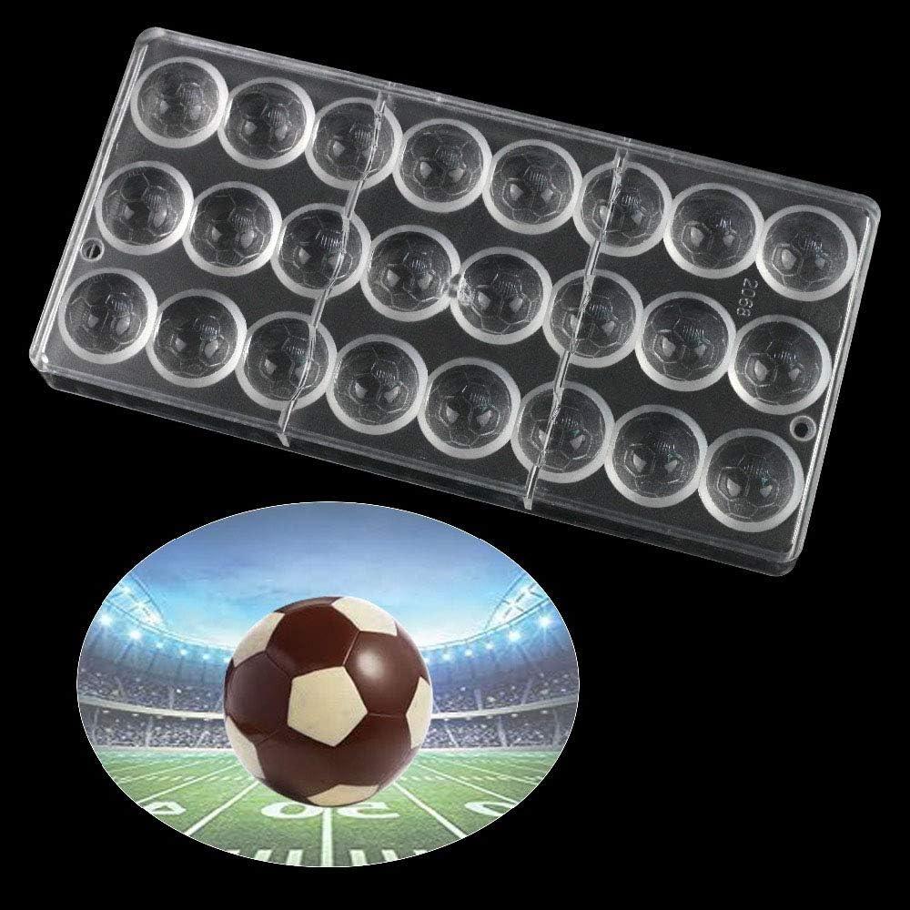 WElinks Molde de policarbonato con 24 Agujeros en Forma de balón ...
