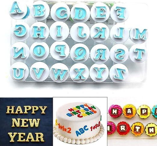 Swell Amazon Com Alphabet Cookie Cutter Plastic Capital Letters Fondant Funny Birthday Cards Online Hendilapandamsfinfo