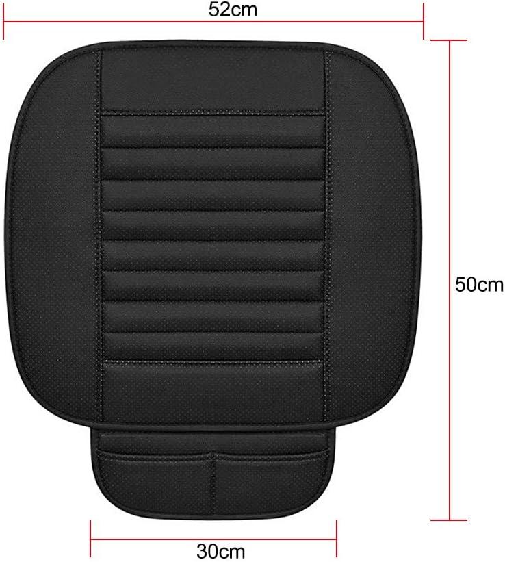 Walmeck Universal Car Seat Cover Pad Anti-Rutsch-Auto Interior Sitzkissen Pad Mat Four Seasons Allgemeine Bambuskohle Atmungsaktive Sitzbezug