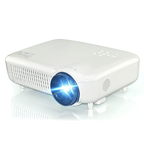 Mini Proyector, NBWS Portátil 3d Alta Definición 3000 lúmenes LCD ...
