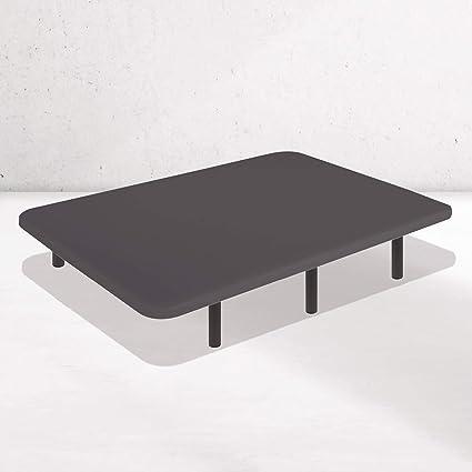 Dreaming Kamahaus Base Tapizada Tejido 3D AIRFRESH en Negro | 150 x 190 cm | 5 Barras transversales | Estructura metálica 30x40mm | Tablero Perforado ...