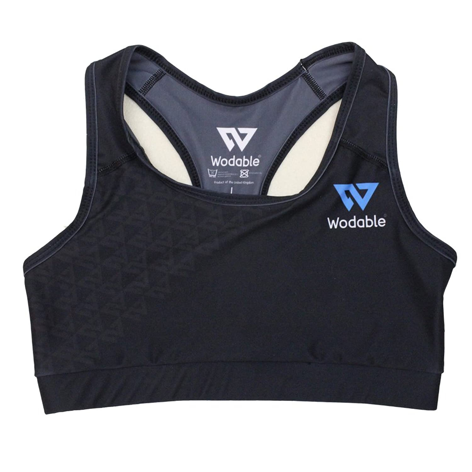 Wodable Compete Sports Bra - Racer Back Crossfit Gym Fitness