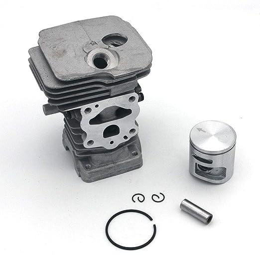 SeekPro 42/mm cilindro pistone kit per motosega Husqvarna 445/445E 450/anello pin Clip di montaggio motore rebuild Parts # 544/11/98/02