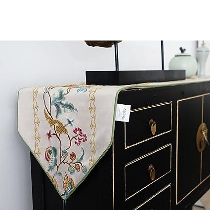 High Quality Table Runner/Luxury Fabric/ TV Cabinet Covers Flag/bed Runner/ Table Runner