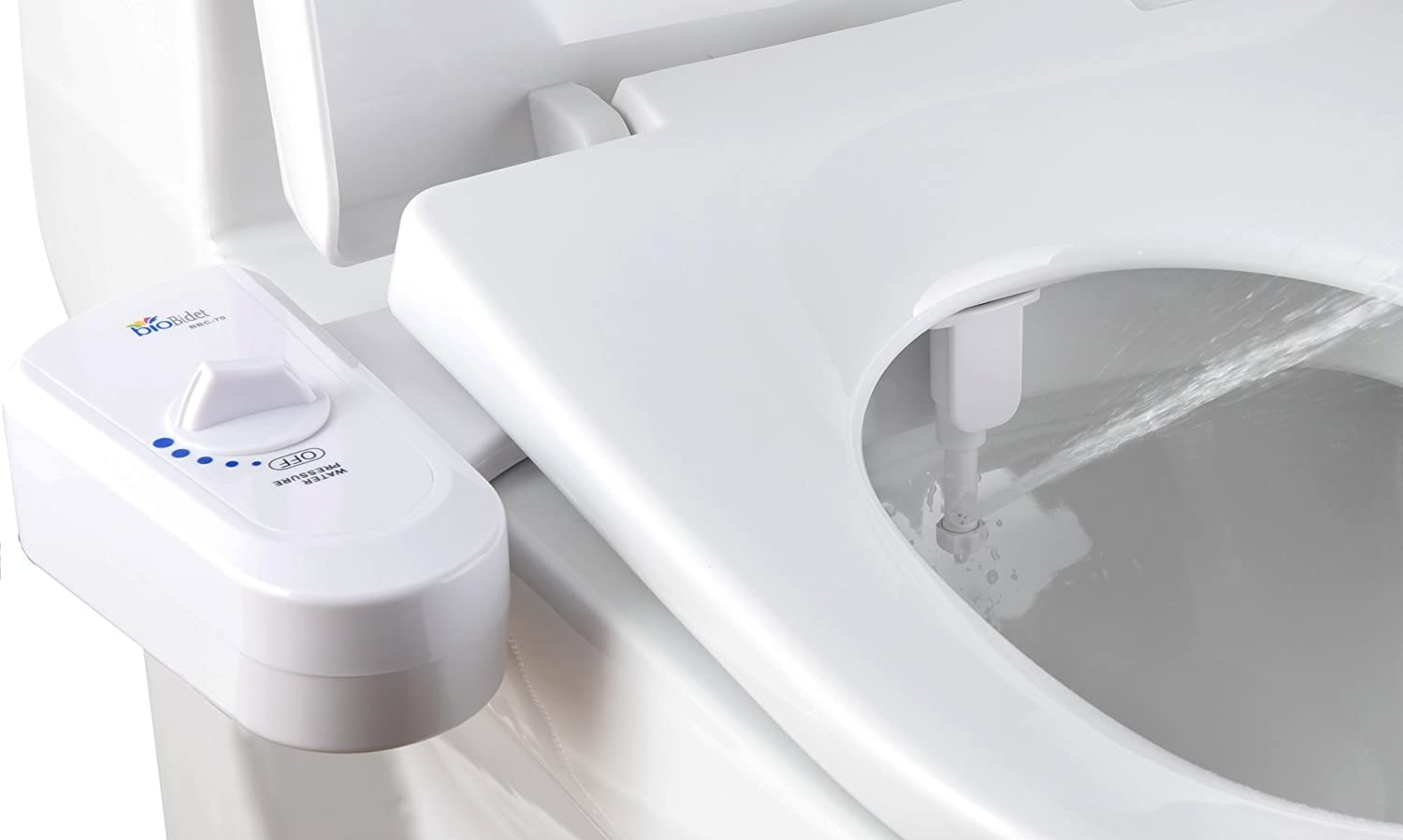 BioBidet Simplet BB-70 Fresh Water Spray Non-Electric