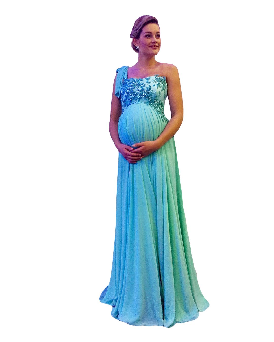 Contemporary Maternity Wedding Guest Dress Elaboration - All Wedding ...