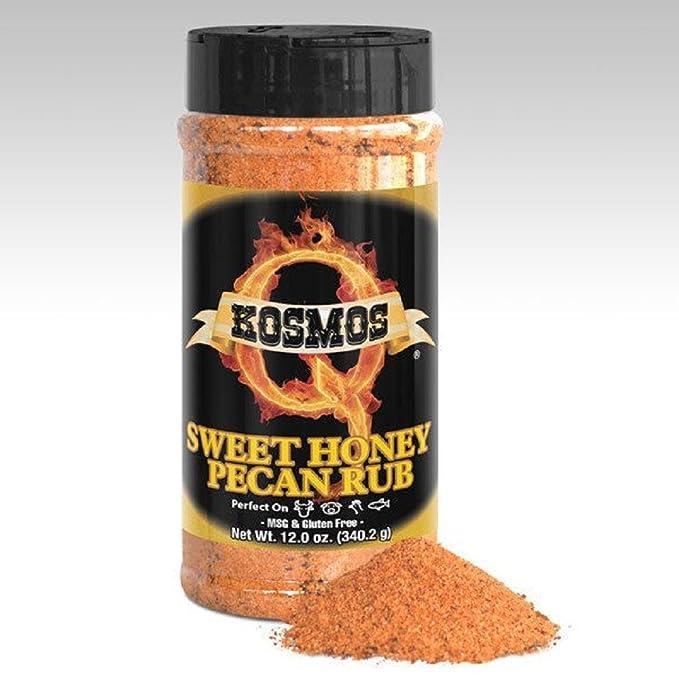 Condimento BBQ Kosmos Q Sweet Honey Pecan (Dulce Miel de nueces) -