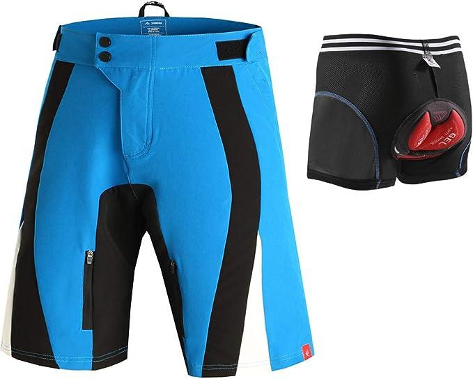 Pantalones cortos de ciclismo al aire libre pantalones de esquí al ...