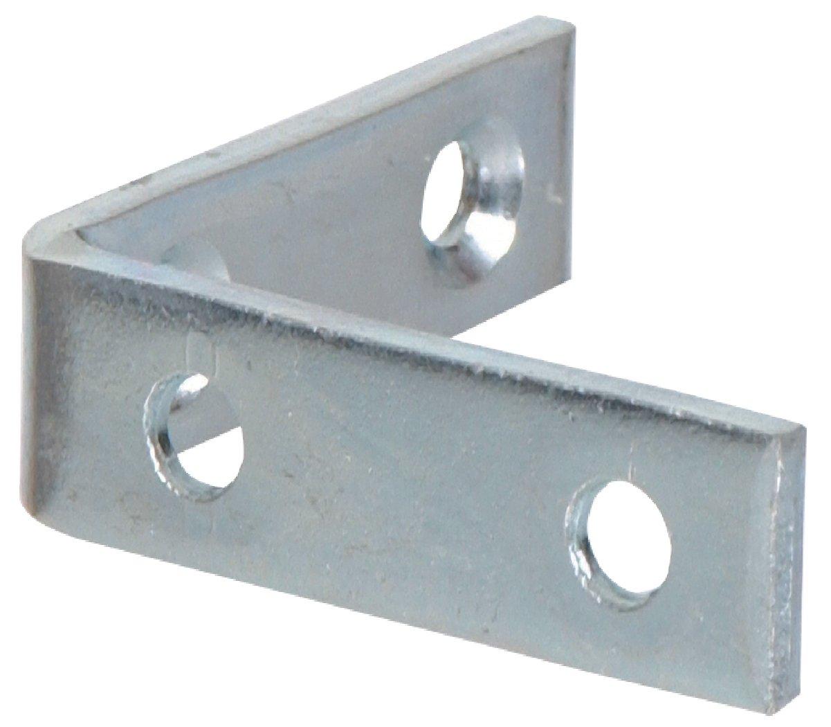 The Hillman Group 592534 Corner Brace Zinc 3 X3 4 4 Pack