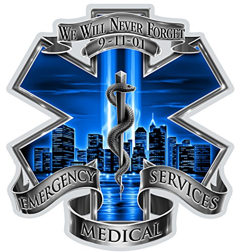 Cheap  Collectible EMS/EMT Decals (6in), Share your Appreciation and Support with our vinyl..