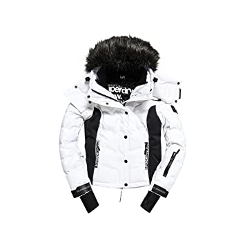 Manteau de ski femme blanc