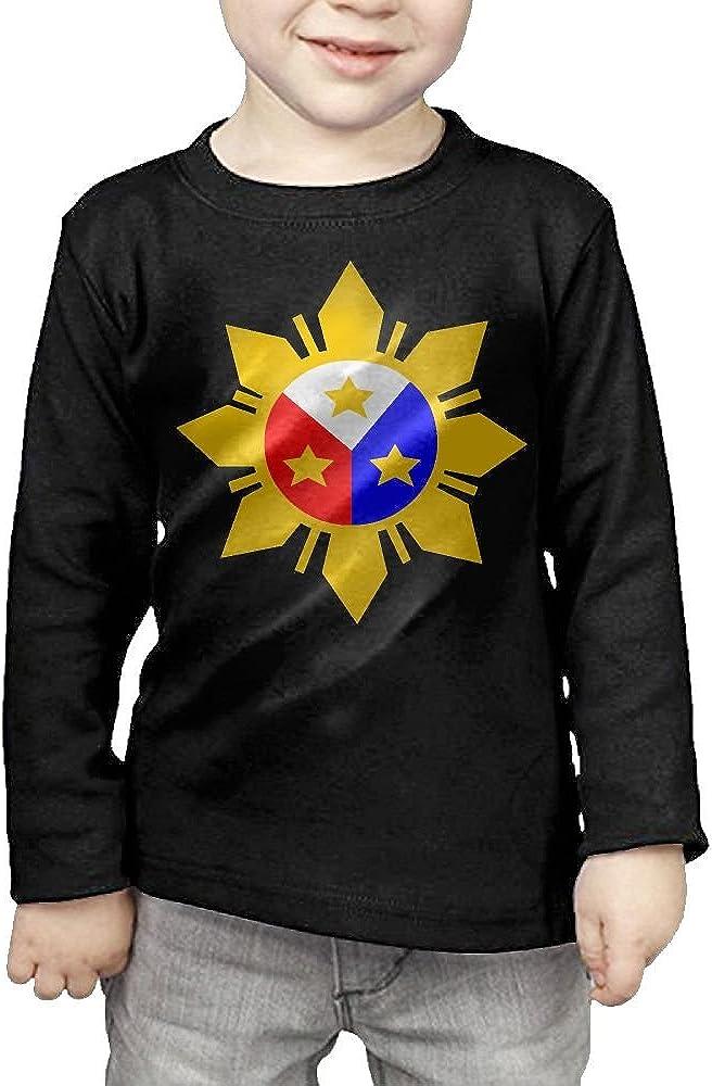 CERTONGCXTS Toddler Philippines Clipart ComfortSoft Long Sleeve Shirt