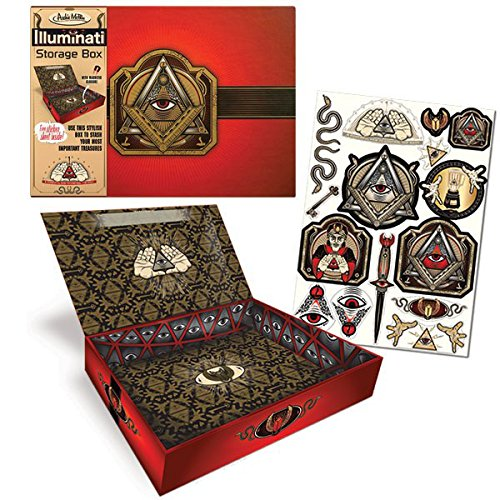 Accoutrements 12464 Illuminati Storage Box