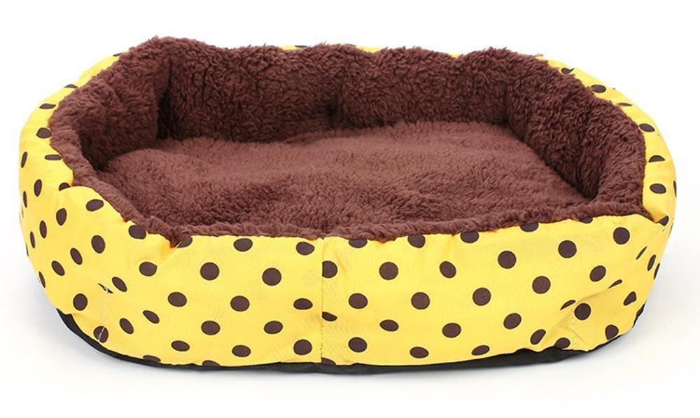 B 58cm 45cm 11cmBiuTeFang Pet Bolster Dog Bed Comfort Pet Nest thickening Warm kennel cat nest cushion