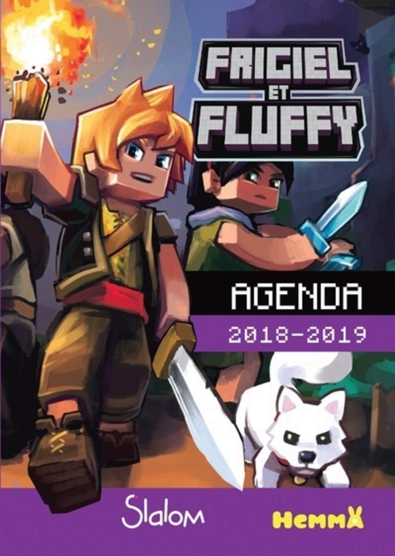 Frigiel et Fluffy Agenda 2018 2019 (French Edition): Collectif