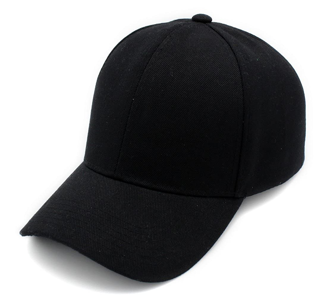 a5eb262e97f Amazon.com  Top Level Baseball Cap Hat Men Women - Classic Adjustable Plain  Blank