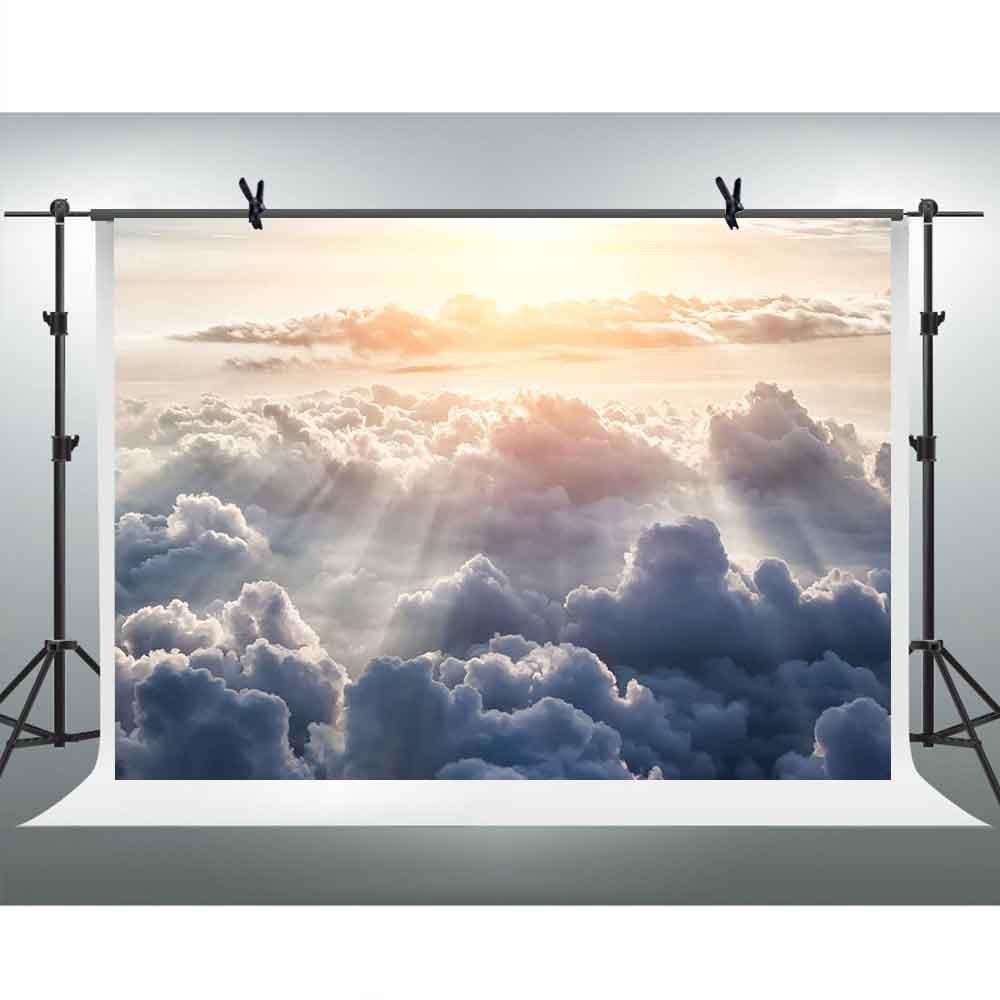 日光写真バックドロップFH 7 x 5ft Dark Clouds背景背景Youtubeテーマパーティー写真ブース小道具Studio gyfh271   B07DJ3LVT3