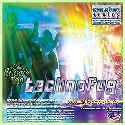 Techno Fog ® - DJ Party Club & Mix - Premium Quality Fog Juice - 2.5 Gallon Square - Perfect Density Fog Machine Fluid for Event Lighting, Parties & DJs - American Made - Water Based Liquid for Small 400 Watt to Higher Wattage 1500 Watt Foggers
