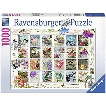 Ravensburger Vintage Postage Puzzle 1000 Piece Toys Games