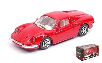 Bburago - Dino 246 GT 15707 Ferrari, 31105r, Rojo, en ...