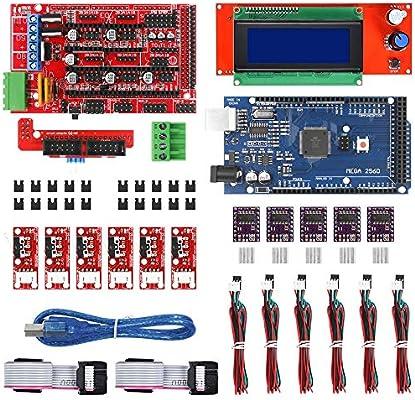 Zamtac Kit de impresora 3D para Arduino 2004 LCD Controller+Mega ...